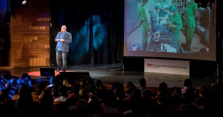 TEDx színpadon állni: ✔